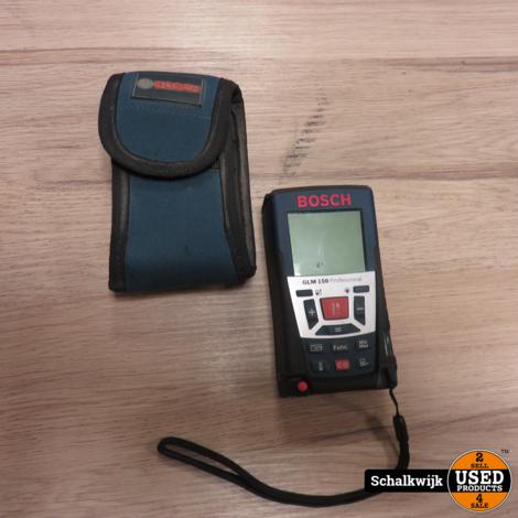 Bosch GLM150 professional afstandsmeter in hoes