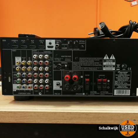 Pioneer vsx-521-k 5.1 130 Watt versterker Met HDMi