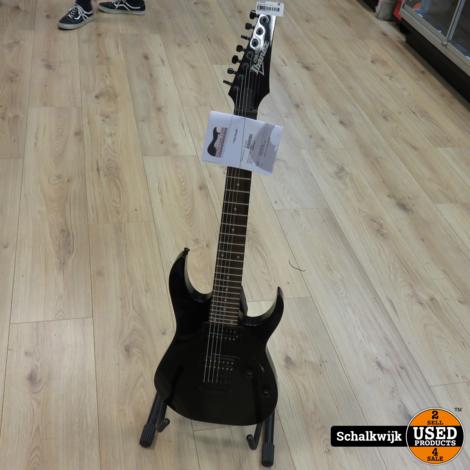 Ibanez Gio GRG7221 7 snarige elektrische gitaar als nieuw!