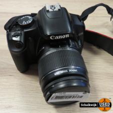 canon Canon EOS 450D camera met EfS 18-55mm compleet met lader 1 accu