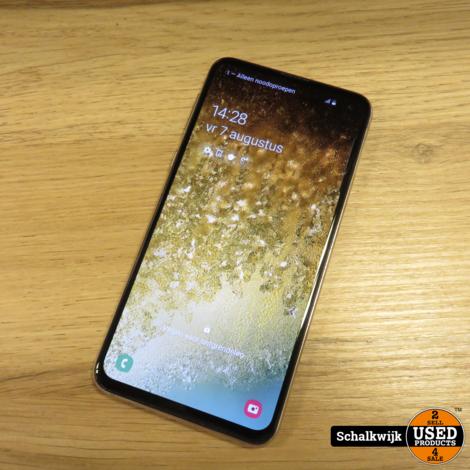 Samsung Galaxy S10E 128gb White zgan met doos