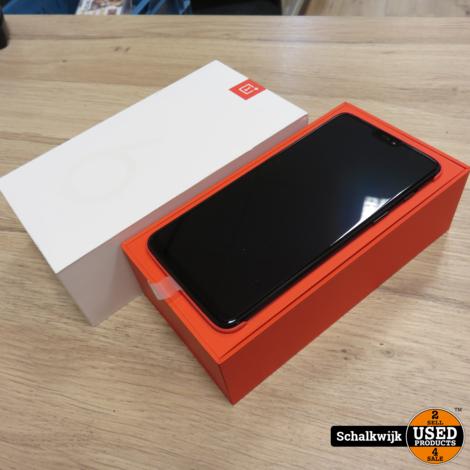 Oneplus 6 64Gb Black Dualsim nieuw in doos!