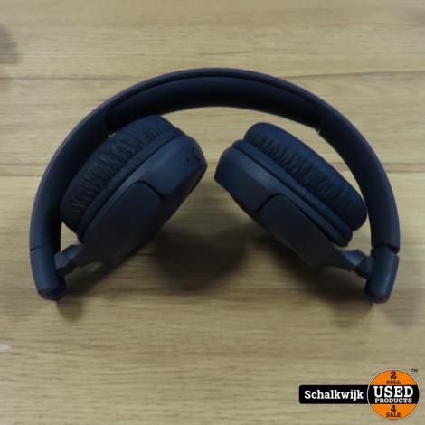 JBL Tune 500 BT blauw hoofdtelefoon on ear met laadkabel