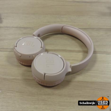 JBL Tune 500 BT roze hoofdtelefoon on ear met laadkabel