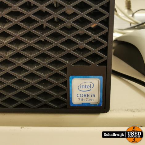 Dell Optiplex 3050 I5 7500 3.4GHz 8GB 128 ssd win 10pro
