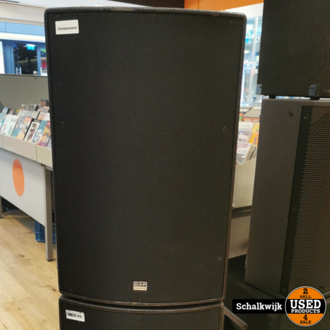 Dap Audio set 2x DRX15 8 Ohm 200 W cont, 400Wprg