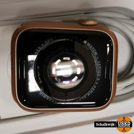 Apple Watch 5 Gold 40 mm sport band Pink Sand en Stone met aankoopbon jan 2020