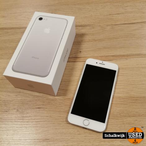 Apple iPhone 7 32Gb Silver als nieuw in doos met 1 jaar garantie!