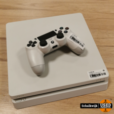 Playstation 4 Slim 500Gb White in nette staat met controller