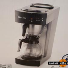 Hendi Koffiemachine 2 Kannen nieuw in doos