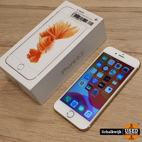 Apple iPhone 6S 64Gb Gold in nette staat in doos
