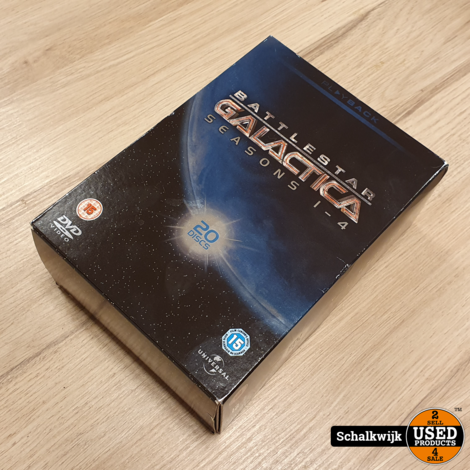 Battlestar Galactica Seasons 1-4 box in nette staat compleet