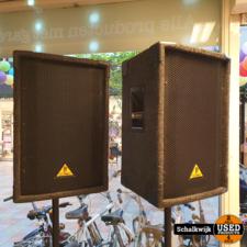 behringer Behringer Eurolive B1220 12 inch luidsprekerset 300W in nette staat