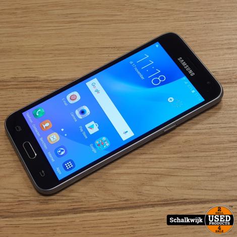 Samsung Galaxy J3 2016 Black 8gb in gebruikte staat