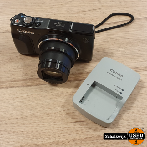 Canon PowerShot SX700 HS camera in nette staat met Wifi