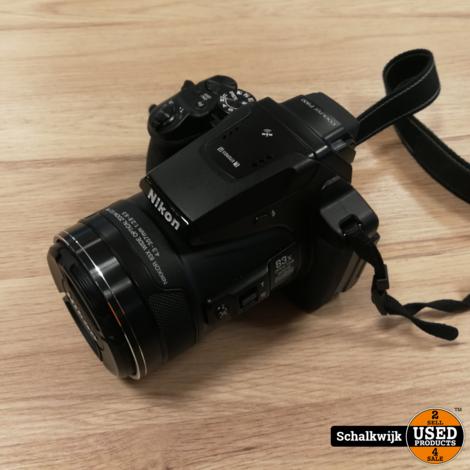 Nikon Coolpix P900 in doos met statief en lader