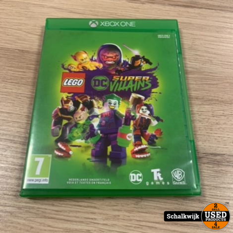 Lego Super Villains Xbox One