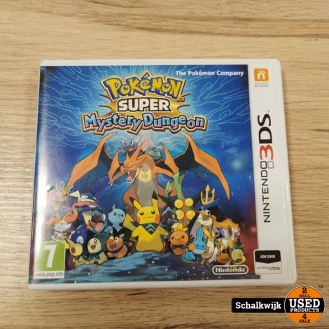 Pokemon Super Mystery Dungeon Nintendo 3DS game