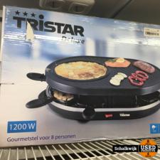 Tristar Deluxe 1200 Watt gourmetstel nieuw in doos