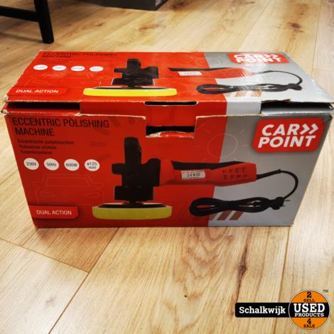 Carpoint polijst Machine 230V 600W met tas in doos garantie tot 10 - 2021
