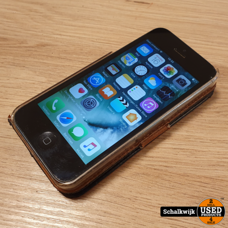 Apple iPhone 5 16gb Space Grey in hoes