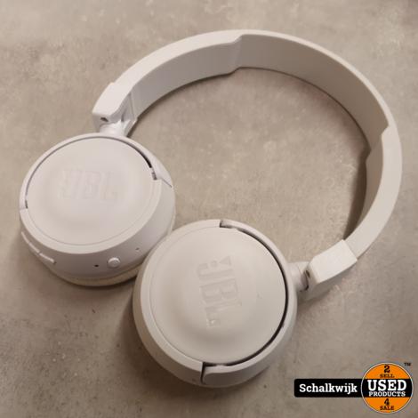 JBL Tune 450 BT Bluetooth White koptelefoon in nette staat
