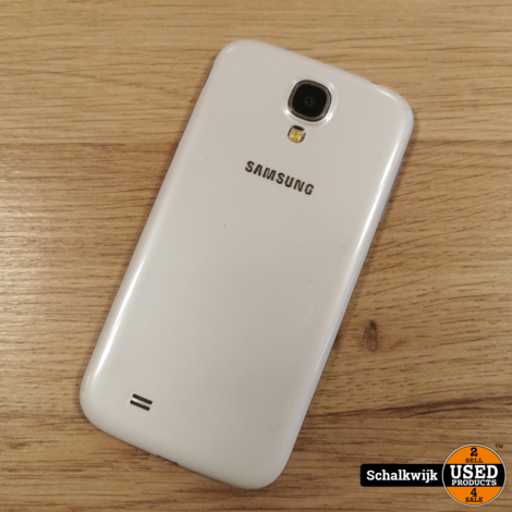 Samsung galaxy S4 16GB android 5.0.1 wit in nette staat