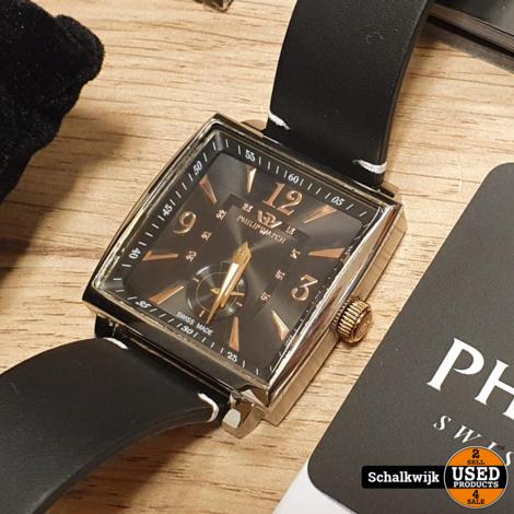 Philip Watch Avalon Watch handwinder in nette staat in doos
