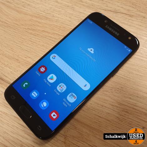 Samsung Galaxy J5 2017 16gb Black in nette staat