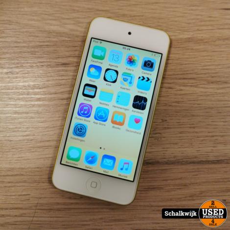 Apple Ipod Touch 5e gen. 32gb oker geel