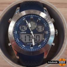 Lorus z024-x001 horloge Blauwe band
