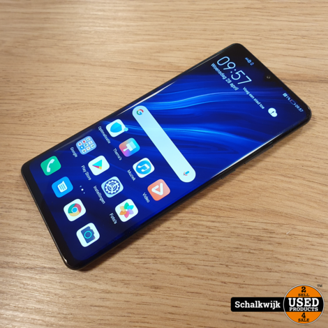 Huawei P30 Pro 128GB Black als nieuw met lader