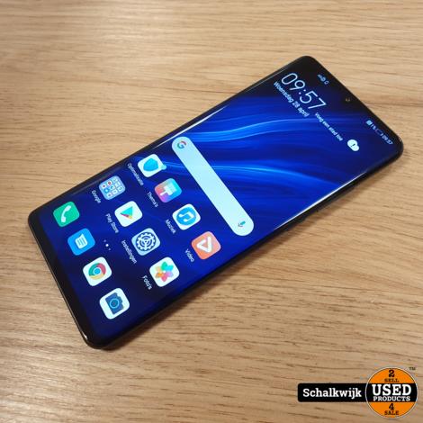 Huawei P30 Pro 128GB Black als nieuw met lader - met 3 maanden garantie!