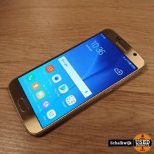 samsung Samsung Galaxy S6 32Gb Gold in nette staat inclusief oplader