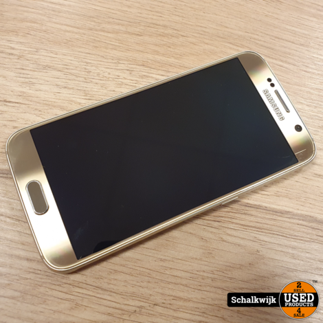 Samsung Galaxy S6 32Gb Gold in nette staat inclusief oplader