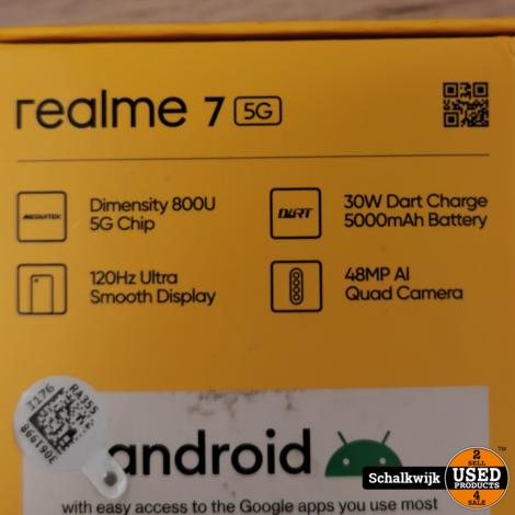 Oppo realme 7 5g 128 gb opslag 6 gb processor