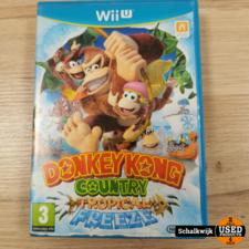 Donkey kong country tropical Freeze Wii U game