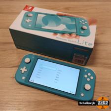 Nintendo switch Nintendo Switch Lite Turquoise als nieuw in doos