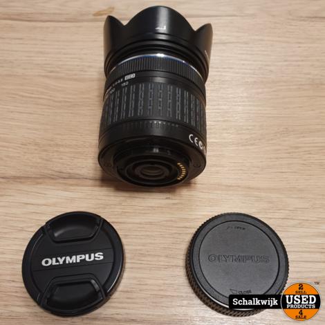 Olympus Digital lens 1: 4-5.6  40-150mm met zonnekap en lensdop in nette staat