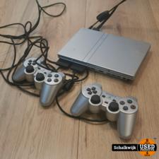 playstation Playstation 2 slim versie 2 controllers