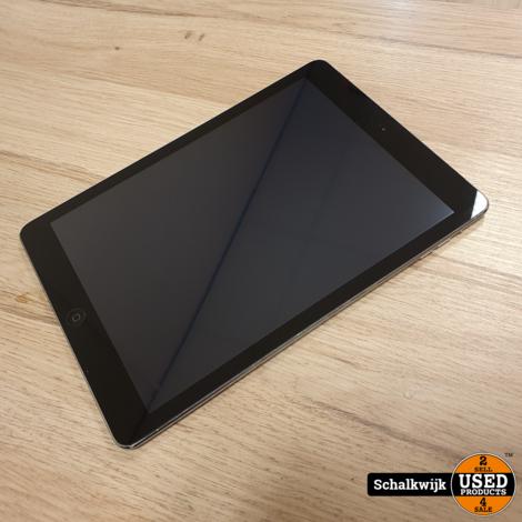 Apple iPad Air 16Gb Wifi & 4G Space Grey in nette staat