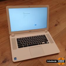 acer Acer CB5-571-34MD i3 Chromebook White in nette staat