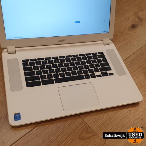 Acer CB5-571-34MD i3 Chromebook White in nette staat