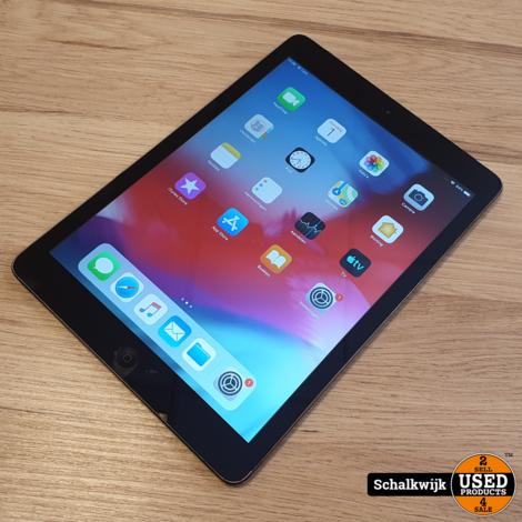 Apple iPad Air 32Gb Wifi & 4G Space Grey in nette staat