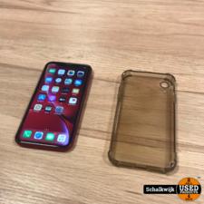 Apple iPhone Apple iPhone XR 64gb Red in nette staat met oplaadkabel