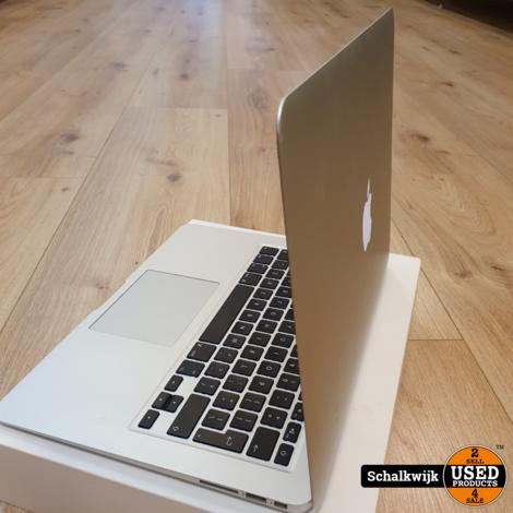 Macbook Air 13 inch 2015 | i5 -1.6Ghz - 8GB - 128GB SSD zeer net in doos