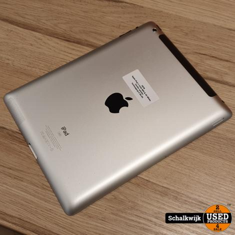 Apple iPad 3 32Gb Wifi & 4G White in nette staat