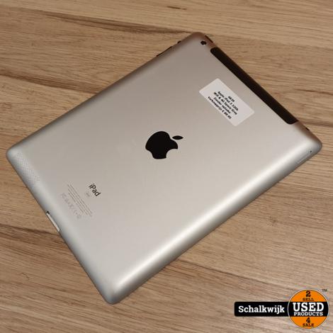 Apple iPad 3 16Gb Wifi & 4G Space Grey in nette staat