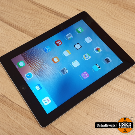 Apple iPad 3 32Gb Wifi & 4G Space Grey in nette staat