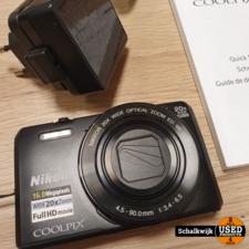 Nikon Nikon Coolpix S7000 camera in nette staat